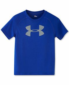 Under Armour Little Boys' Big Logo Tee - Kids Toddler Boys (2T-5T) - Macy's