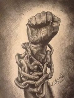 Don't let the chains hold you back from what you believe In