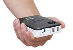 AAXA KP-100-02 P2 Jr Pico Projector with 90 Minute Battery Life, Pocket Size, 20,000 Hour LED Life, Mini-HDMI, Mini-VGA, Media Player, DLP Projector AAXA Technologies,http://www.amazon.com/dp/B005T567CG/ref=cm_sw_r_pi_dp_Jo1otb1ZWWCSK1GY