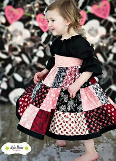 The Valentina dress by Corinna Couture by CorinnaCouture on Etsy, $64.00