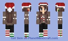My christmas skin on Planet Minecraft! My Account: iFishyi #minecraft #planetminecraft #minecraftskin