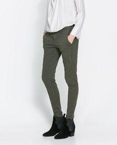 dfa98d76ac09 Image 2 of CARGO TROUSERS from Zara  Cargo  Image  pantaloncargofemme   trousers