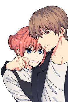 Kagura x Okita Sougo - Gintama \ ^^ / Manga Couple, Anime Love Couple, Anime Couples Manga, Manga Anime, Anime Art, Anime Hairstyles Male, Cute Anime Coupes, Okikagu, Cute Love