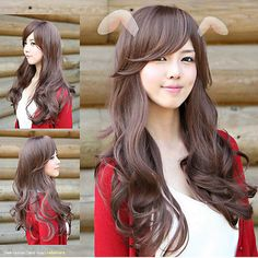 Hot heat resistant Kanekalon Party hair>> Light Brown New VOgue Styish Sexy Lady Long Wave Wigs Party Cosplay Wig     #http://www.jennisonbeautysupply.com/    http://www.jennisonbeautysupply.com/products/hot-heat-resistant-kanekalon-party-hair-light-brown-new-vogue-styish-sexy-lady-long-wave-wigs-party-cosplay-wig/,      Welcome to our store ! Direct manufacturers, wholesale and retail, much buy send more Wig quality assurance, welcome more friends buy. Looks silky and healthy ! New looks…