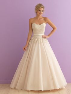 Allure Bridals Romance 2908 Romance Bridal by Allure ROBIN'S Bridal Mart | St. Louis Dress Store | St. Louis Prom Shop