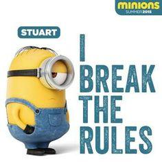 Stuart breaks the rules