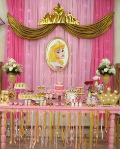 Princess party, fiesta princesa, princesa aurora, princess aurora,