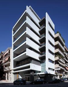 Architecture Building Design, Home Building Design, Facade Design, Residential Architecture, Arch Building, Building Facade, Building A House, 3d House Plans, Classic House Design