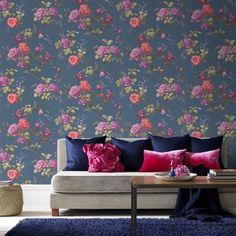 Graham & Brown Fresco Oriental Wallpaper – 50-661 – Blue