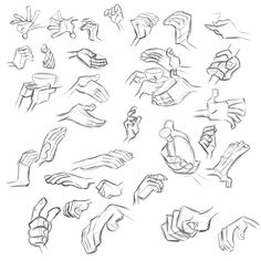 384Sprites: Milt Kahl - Hand Study - p2 ✤ || CHARACTER DESIGN REFERENCES | Find more at https://www.facebook.com/CharacterDesignReferences if you're looking for: #line #art #character #design #model #sheet #illustration #expressions #best #concept #animation #drawing #archive #library #reference #anatomy #traditional #draw #development #artist #pose #settei #gestures #how #to #tutorial #conceptart #modelsheet #cartoon || ✤