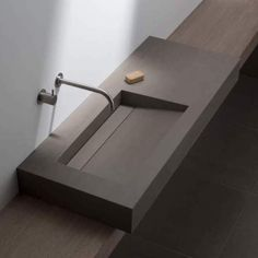 Wash Basins & Shower Drains - Elements Collection from Mosa Diy Bathroom, Bathroom Floor Tiles, Modern Bathroom, Small Bathroom, Lavabo Design, Washbasin Design, Sink Design, Bad Inspiration, Bathroom Inspiration