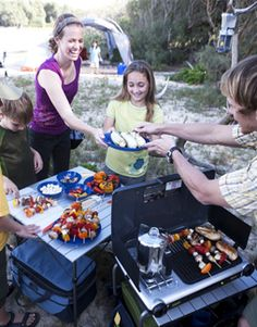 Awesome tips for packing, organizing and setting up camp