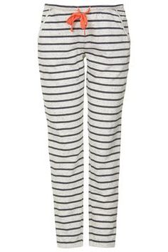 MATERNITY Speckle Stripe Joggers