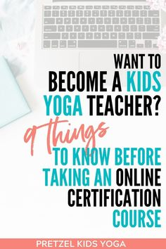 Want to become a kids yoga instructor? Here are 9 things to know before taking an online certification course. Get started teaching yoga with these easy tips. Fitness Certification, Kids Class, Dealing With Stress, New Career, Yoga Teacher Training, Yoga For Kids, Starting Your Own Business, Yoga Benefits, Things To Know