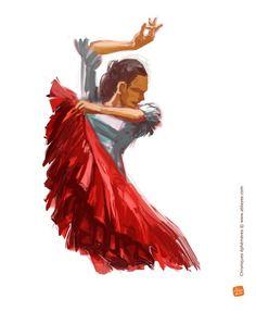 Me revoici avec comme promis une seconde série de croquis de mes danseuses de Flamenco. Au menu, on a de la mine de plomb, du crayon et du numérique. D'ailleurs, je m'attèle à la mise en couleur de la dernière. Affaire à suivre donc et à conclure ! :-)...