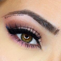 Pink - neutral #eye #makeup #eyes #eyeshadow #soft #neutral #daytime