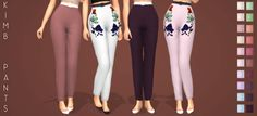 Lana CC Finds - enriques4: [Enrique] Kimb Pants New Mesh All...