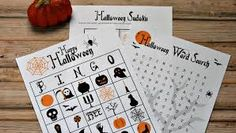 Image result for halloween party games