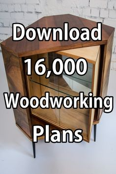 Cool And Unique Woodworking Projects – Easy Woodworking Projects (Instant Access) Woodworking Furniture Plans, Unique Woodworking, Woodworking School, Woodworking Projects That Sell, Woodworking Skills, Woodworking Workshop, Tv Set Design, Fun Brain, Gifts For Dentist