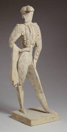 jacques lipchitz sculptures | Jacques Lipchitz, 'Toreador' 1914-15
