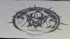 Tattoo sketch for those of more orthodox taste.