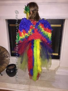 Colorful Macaw Bird Costume - 1