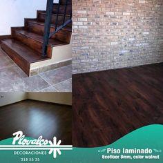 """Si te gustan los pisos de madera la practicidad de los laminados y la calidad  de nuestro servicio entonces tu piso ideal seguramente es el laminado """"Ecofloor"""" de 8mm.  Pregúntanos por él tenemos varias tonalidad con look increíblemente natural y hermoso. - http://ift.tt/1QIZuz0"""