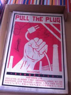 Signed posters available from our web store