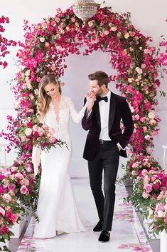 Floral Wedding Arch Decoration Ideas ❤ See more: http://www.weddingforward.com/wedding-arch-decoration-ideas/ #weddingforward #bride #bridal #wedding