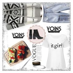 """""""YOINS"""" by red-rose-girl ❤ liked on Polyvore featuring AJLA, yoins and loveyoins"""