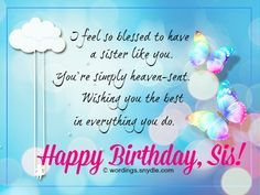 Birthday Wishes for Sister Images . the Best Birthday Wishes for Sister Images . Happy Birthday Wishes for Sister Birthday Messages For Sister, Birthday Message For Friend, Message For Sister, Happy Birthday Quotes For Friends, Sister Birthday Quotes, Birthday Wishes Quotes, Happy Birthday Sister, Birthday Greetings, Sister Quotes