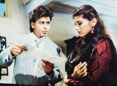 Shah Rukh Khan and Sonali Bendre - English Babu Desi Mem (1996)