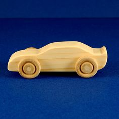 Race Car Party Favors Package of 10 Natural Wood by nwtoycrafters