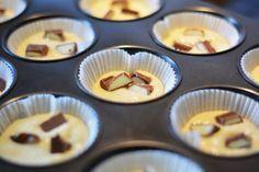 kinder schokolade muffins rezept kinderriegel