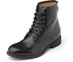 Schnür-Boots Stiefeletten