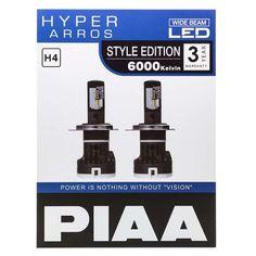 Kjøp på Luminix.no - H4 | PIAA Hyper Arros LED 6000K -   PIAA Hyper Arros 6000K LED er LED-kitet for deg som ønsker generelt økt lysstyrke på dine pærer, samt det stilige LED-utseendet på bilen. Med en lysstyrke på 2000/1600 lumen pr. pære, får du en generell økning i lysstyrke på ditt originale lysbilde.    Hyper Arros 6000K LED er også CANbus-kompatibelt med de medfølgende PCU-kontrollenhetene som hindrer feilkoder, uten å øke strømforbruket slik konvensjonelle motstander gjør.     LED… Style, Lily, Velvet, Swag, Outfits
