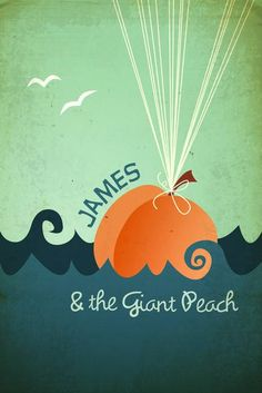 James and the Giant Peach (1996) ~ Minimal Movie Poster by Megan Romo #amusementphile