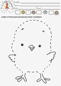 Worksheets for kids - Kindergarten Tracing Practice Preschool, Preschool Lessons, Preschool Worksheets, Preschool Activities, Joining Dots, Shapes For Kids, Animal Coloring Pages, Motor Activities, Kids Education