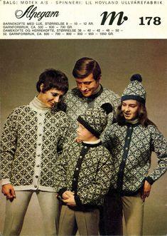 Norsk genser Norwegian Knitting, Knitting Patterns, Blouse, Classic, Crochet, Retro, Nye, Tops, Women