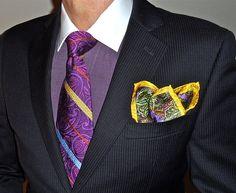 Tallia jacket & purple accessories…