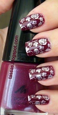Estan bien lindos esos diseños, estoy en la espera de mi pedido de nail stamping de konad, para hacer mis uñas.