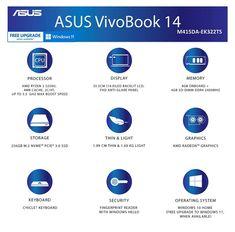 ASUS VivoBook 14 2021 M415DA-EK322TS Price, Specs and Features 1