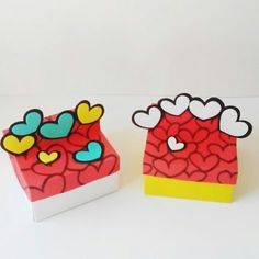 Decorative Boxes, Projects To Try, Packaging, Country, Decorated Boxes, Craft, Christmas Gift Bags, Painted Boxes, Easter Art