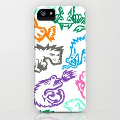 Crayon Love: Dragons iPhone & iPod Case by Ornaart - $35.00
