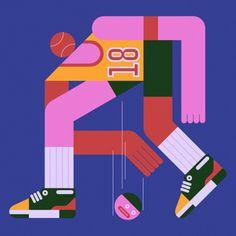 Untitled by Blok Magnaye / want it on a WHIM. Flat Illustration, Character Illustration, Branding, Character Design Inspiration, Illustrations Posters, Vector Art, Illustrators, Graphic Art, Clip Art