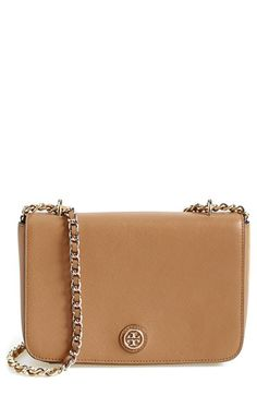 Tory Burch 'Robinson' Leather Shoulder Bag available at #Nordstrom