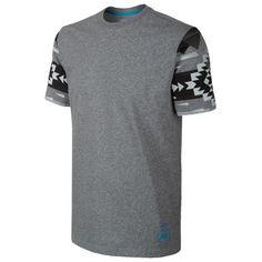 Nike N7 Pendleton T-Shirt - Men's - Casual - Clothing - Dark Grey Heather