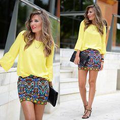 Get this look: http://lb.nu/look/7678854  More looks by Helena Cueva: http://lb.nu/miaventuraconlamoda  Items in this look:  Choies Skirt   #chic #elegant #street
