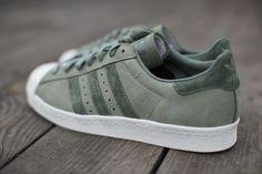 adidas Superstar 80s: Olive Green