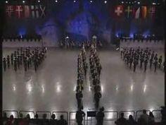 Une prestation de la garde Royale Norvegienne - YouTube